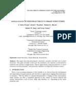 Application of Piezoelectrics to Smart Structures