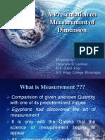 Measurement of Dimension