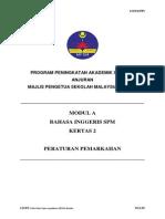 Trial Kedah English SPM 2013 K2 SKEMA