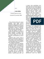Jacques-Alain Miller, L'expérience du réel dans la cure analytique - cours de 1998_1999