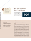 #1. the Mind and Brain of Short-Term Memory