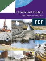 Geothermal Institute Brochure
