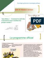 Theme Comment Les Individus s Associent Ils Pour Constituer Des Groupes Sociaux 2013 2014