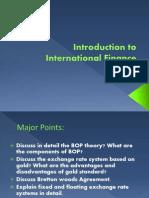 Chpt 1 Introduction to International Finance (1)