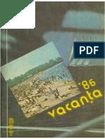 Almanah BTT 1986 - Vacanta 86