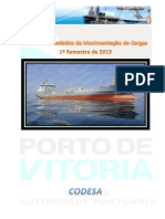 CODESA_Relatório Estatístico 1º Semestre de 2013