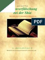 Artikel- Quranverfälschung bei der Shia