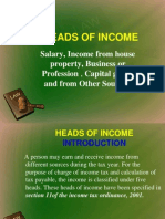 151684510 Heads of Income