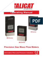 Gas Flow Meter Manual
