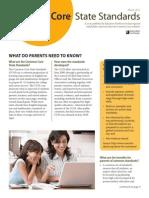 common core brief parents