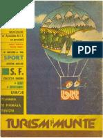 Almanah BTT 1986 - Turism Si Munte 1986