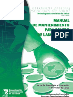 Manual de Mantenimiento para Equipos de Laboratorio