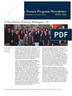 Cordova y Fernos Program Newsletter