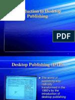 History Desktop Publishing