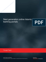 Next Generation Online Islamic Banking Portals