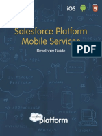 Salesforce Mobile Services