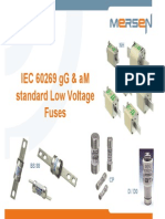 TM 104 Low Voltage European Fuses aM gG IEC 60269 en 01