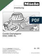 Bedienungsanleitung Kombi-Dampfgarer DGC 5080 - 09149810