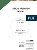 Manual Operacion Mantenimiento Grua Pk18500 23500 Palfinger