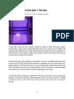 UV Exposure Box