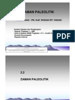 2.2 Zaman Paleolitik