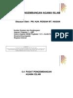 5.4 Pusat Pengembangan Agama Islam