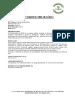 METABISSULFITO DE SÓDIO
