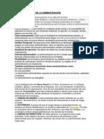 CARACTERISTICAS DE LA ADMINISTRACIÓN