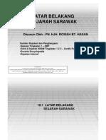 10.1 Latar Belakang Sejarah Sarawak