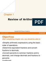 2013 - Review of Arithmetic