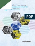 A Compendium of Case Studies on Gender Mainstreaming Initiatives in UN-Habitat