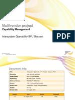 Intersystem Operability SVU