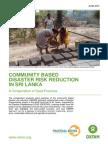 Community based disaster risk reduction in Sri Lanka