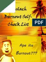 Maslach Burnout