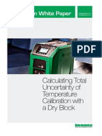 Beamex White Paper - Total Uncertainty of Temperature Calibration ENG