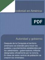 Poca Colonial en Am Rica