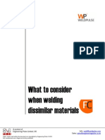 What to Consider When Welding Dissimilar Materials