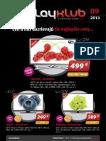 Leták Playklub 9/2013
