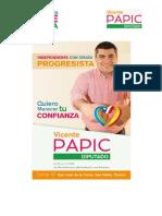 Vicente Papic Arce-Estudio Gestión Congreso Diputado Sergio Ojeda Uribe -Tercer Informe
