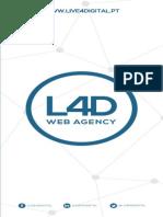 Flyer Realidade Aumentada Servicos Marketing Digital L4D