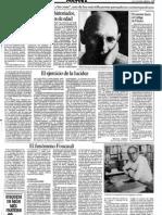 Foucault, 25 anys mort