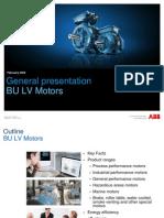 General Presentation BU LV Motors_February_2009