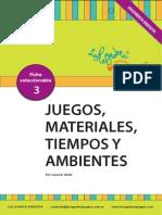 PDF Juegos, Materiales, Ambientes y Tiempos