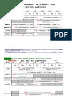 Horario Prof y Trad Alema769n 2013