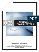 Resumes and Cfover Letters
