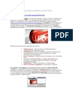 Manual Contaplus Elite 2012