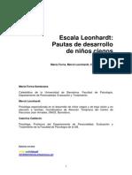 Escala Leonhardt 2003
