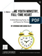 Part-Time Youth Ministry, Full-Time Heart