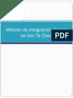 Método de integración directa de Ven Te Chow