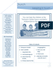 Newsletter - June 28, 2009